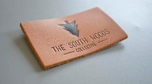 THE SOUTH WOODS COLLECTIVE leather labels |