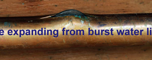 Water Damage from Burst Pipes | Water Damage from Leaking Pipes