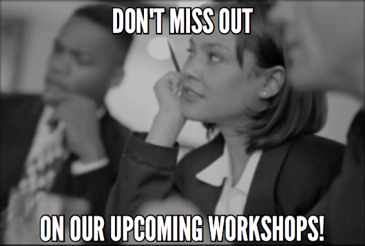 Join us for our May Workshops in Prior Lake MN!