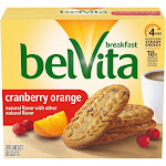 belVita Cranberry Orange Breakfast Biscuits - 5ct