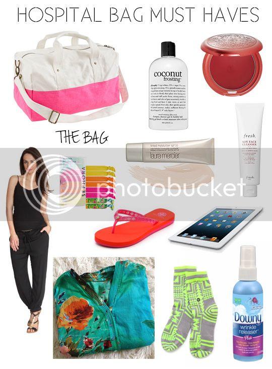 Hello Jack Blog: Hospital Bag Must Haves