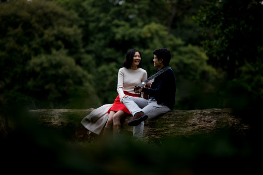 London Chinese Pre Wedding Photography Richmond Park - Carolyn and Wilfred -