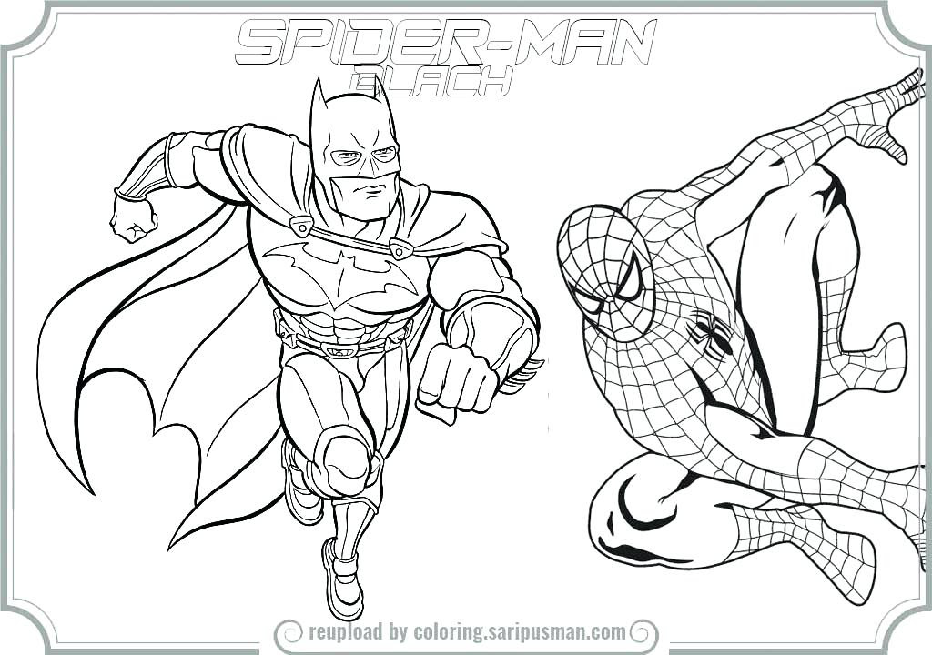 Spiderman Coloring Pages Pdf at GetColorings.com | Free ...