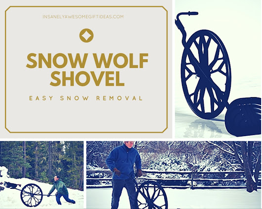 Snow Wolf Shovel Helps Remove Snow And Reduces Lower Back Stress