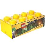 LEGO Storage Brick 8, Bright Yellow (Batman)