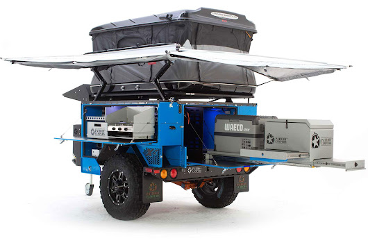 Tough As Nails: Australian Overland Trailer Hits U.S. Market