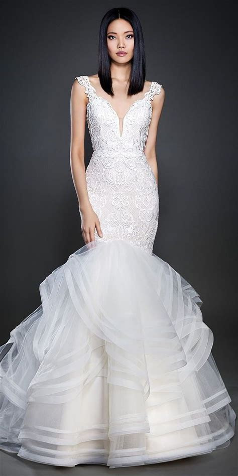 326 best images about Fit & Flare Wedding Dresses on