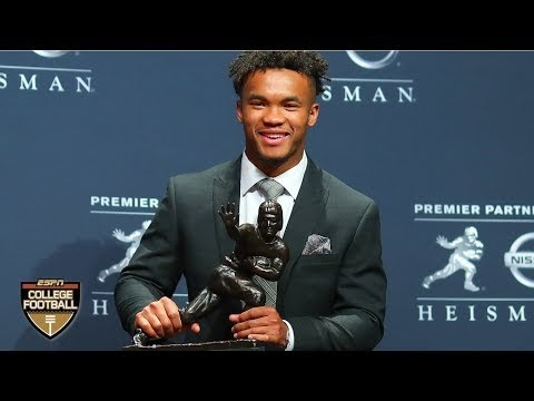 Congrats @TheKylerMurray on the 2018 @HeismanTrophy. I thought @Tuaamann had it in the bag.