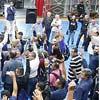 Metroviários votam em assembleia no sindicato no Tatuapé