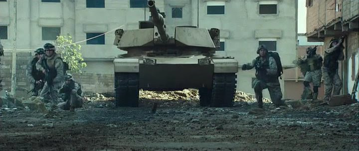 Made for Movie M1 'Abrams' modified M60 Patton