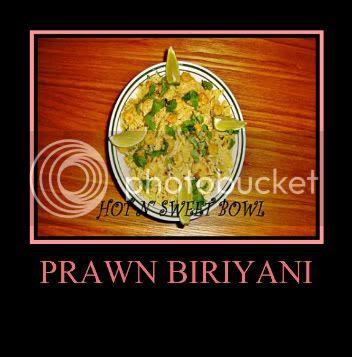 Prawn Biriyani