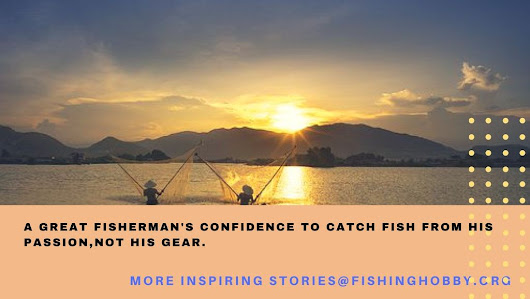 A great fisherman's confidence to catch fish from his passion,not his gear.1.jpg