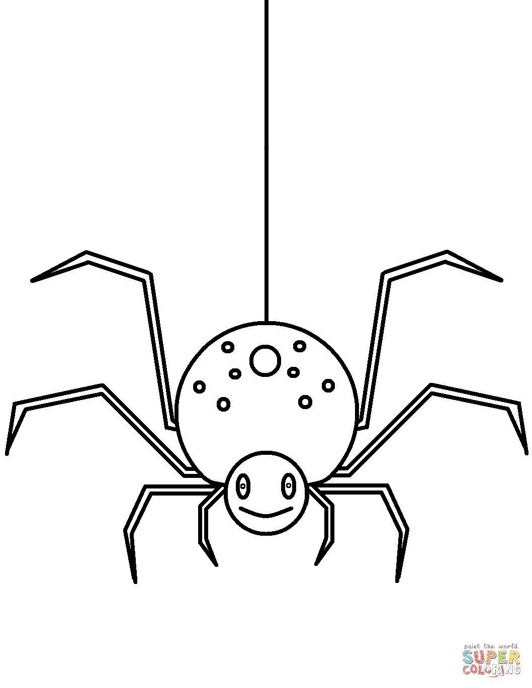 22 Spinnen Zum Ausmalen - Besten Bilder von ausmalbilder