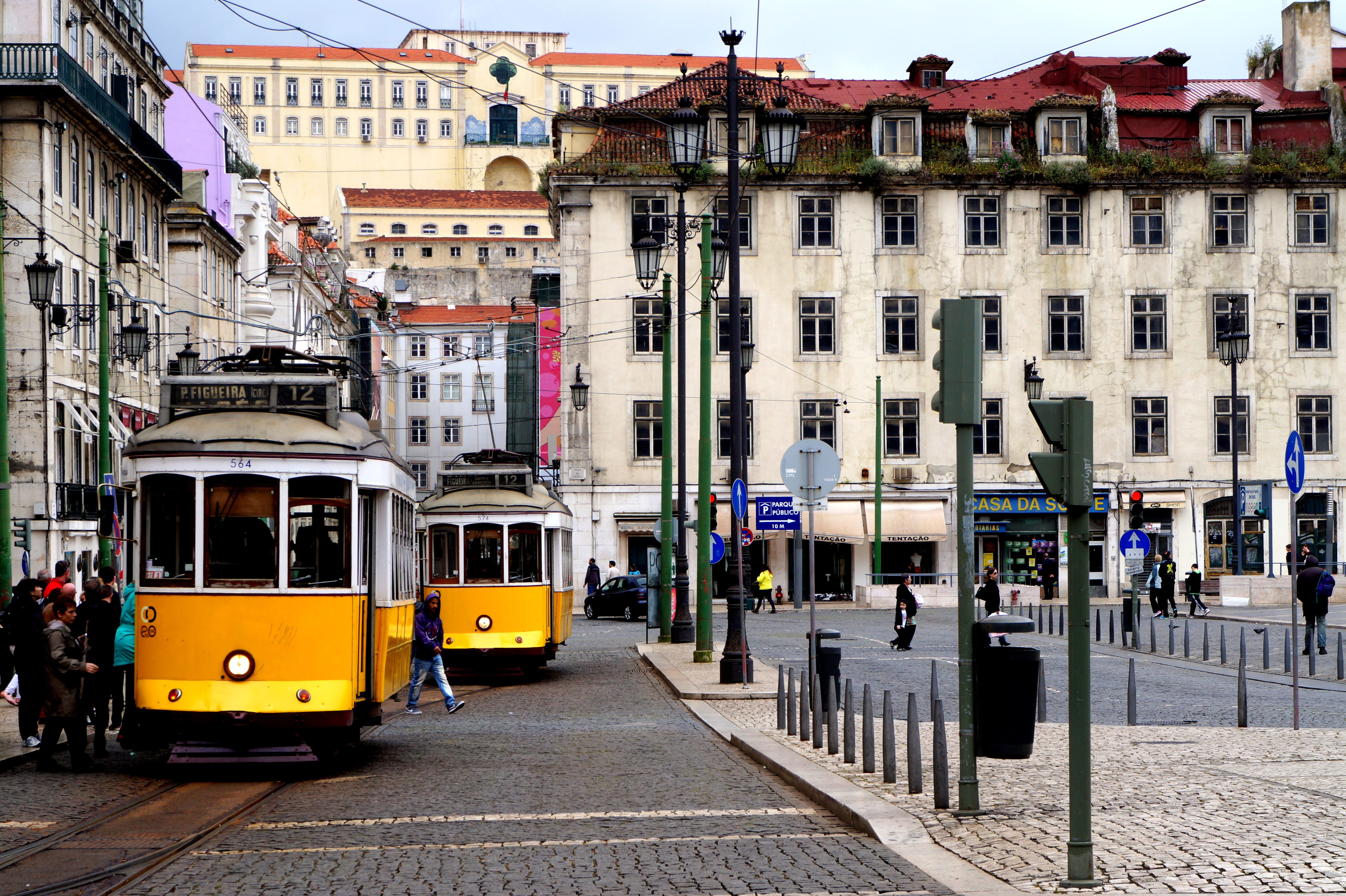 Lisboa tranvia palarios
