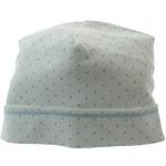 Magnolia Baby Boys Take Home Hat Blue & White Polkadot