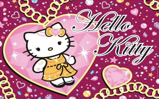 Gambar Animasi Hello Kitty Lucu