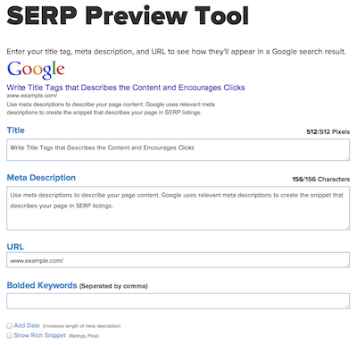 Announcing Our SERP Preview Tool
