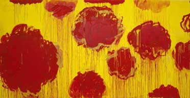 From A Scattering of Blossoms series, by Cy Twombly