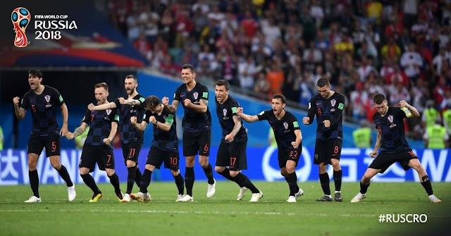 Grandes emoções, belas reviravoltas: Croácia na semifinal