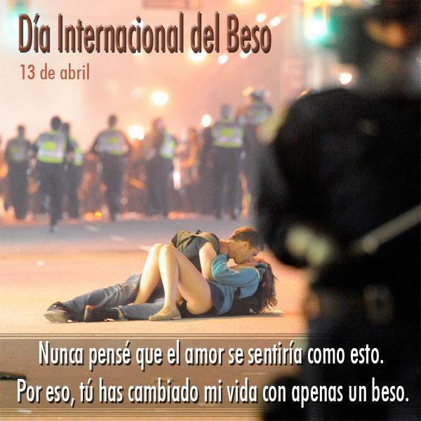 Imagen Para Compartir Y Celebrar El Dia Internacional Del Beso