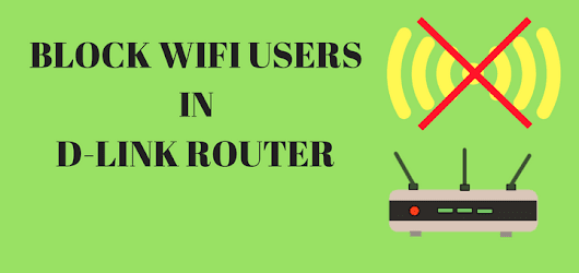 Learn how to block wifi users in D-link router using mac address filtering