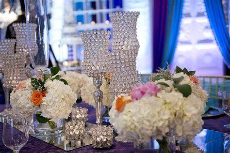 Purple & Turquoise Victorian Inspired Wedding Reception
