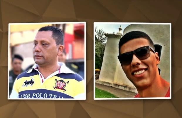 Mateus Pinheiro de Morais e Marcos Vinicíus Lemes da Abadia vítimas de Cadu em Goiás (Foto: Reprodução/Fantástico)