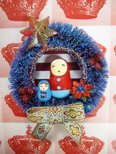 Matryoshka Wreath, Pollyanna's Fairytale! 2