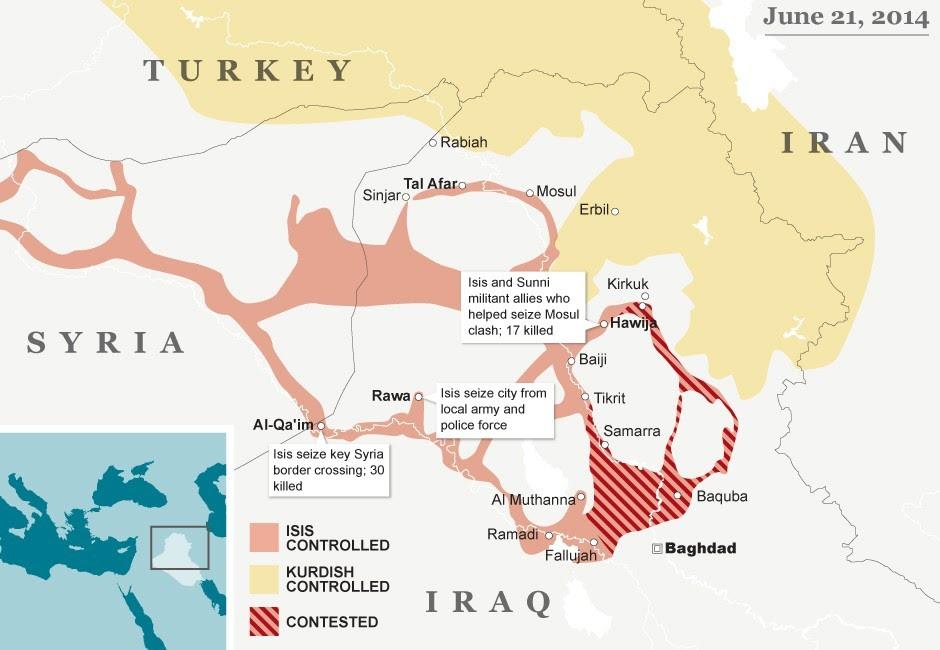 ISIS intrusão na Síria não é um acidente.