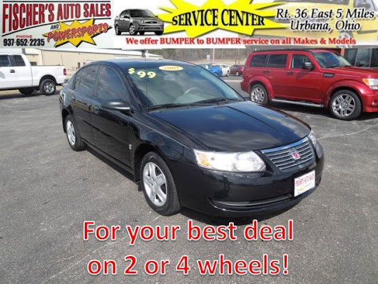 Used 2007 Saturn ION for Sale in Urbana OH 43078 Fischer's Auto Sales & Powersports