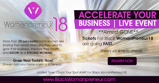 Make Sure You're at Womanpreneur 2018
