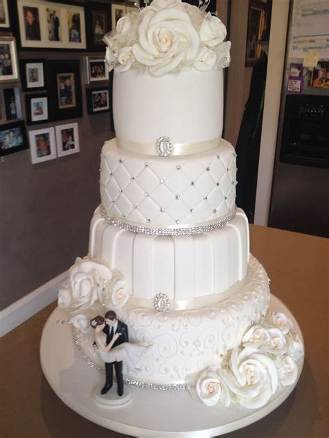 4 Tier Wedding Cake Designs