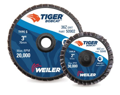 Weiler Expands Mini Flap Disc Offerings, Increases Product Life
