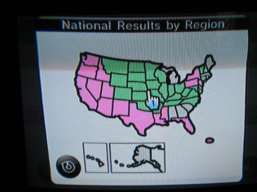 Wii map