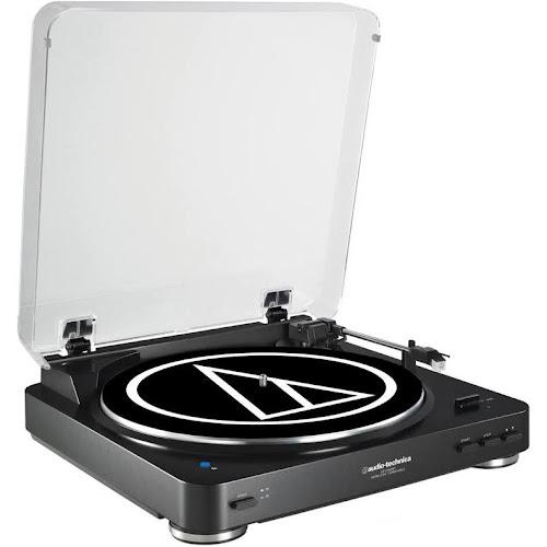 Audio-Technica AT-LP60-BT Bluetooth Turntable - Black