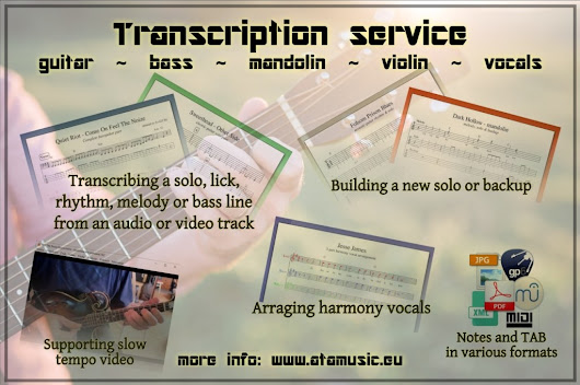 Transcription service | ATAmusic