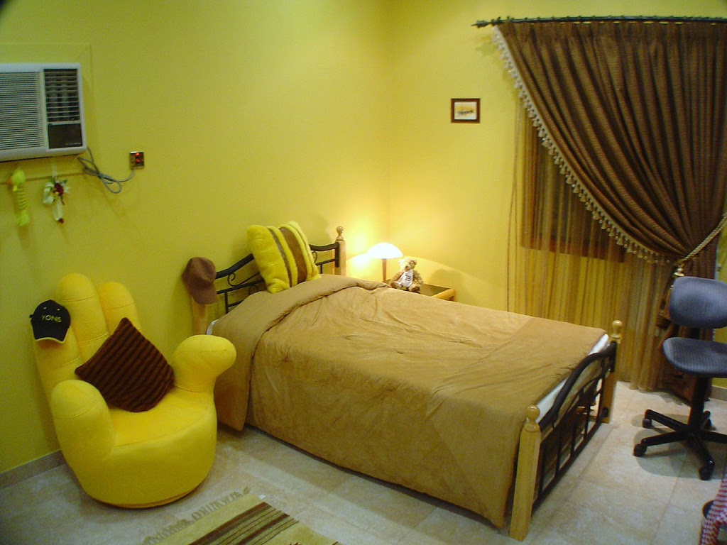 Yellow Themed Rooms