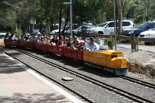 Miniature railway Eltham Victoria