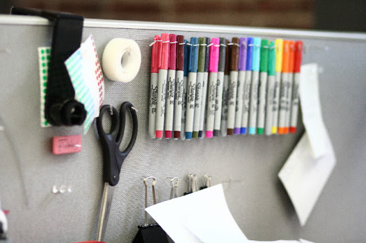 BTOD.com  –  7 Creative DIY Ideas to Keep Your Office Organized