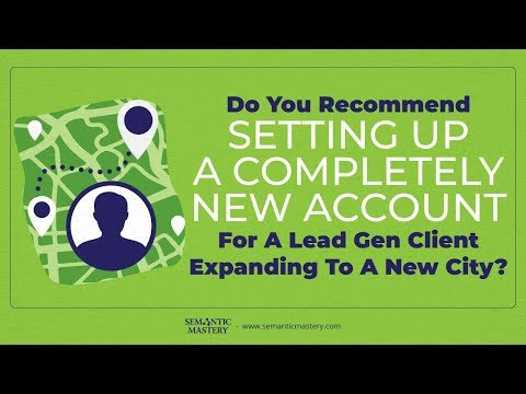 Do You Recommend Setting Up A Completely New Account With Different Persona When Expanding A Lead Ge - YouTube