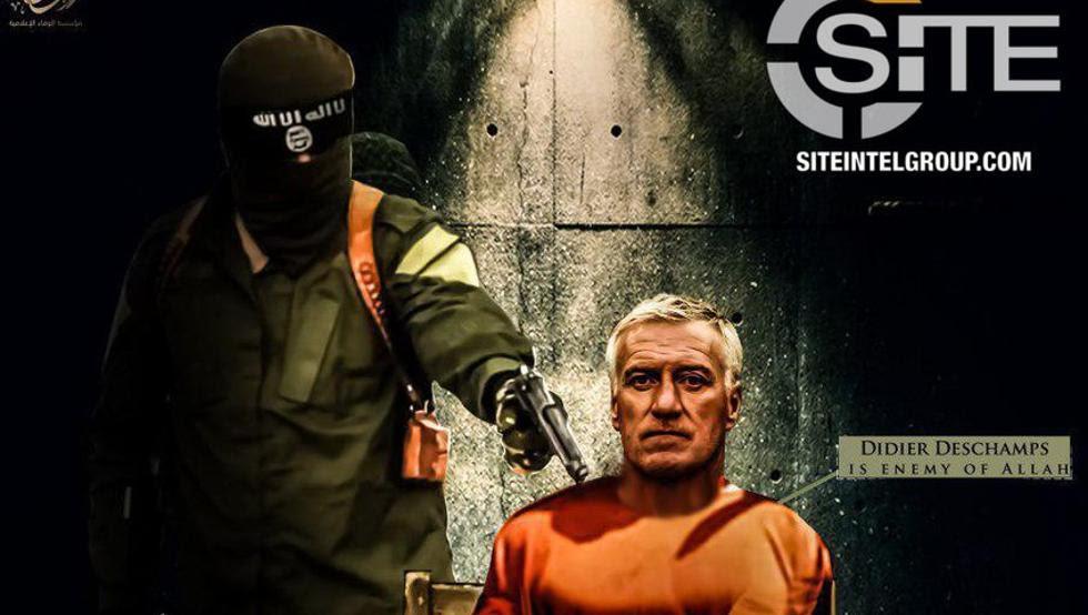 Risultati immagini per deschamps ISIS