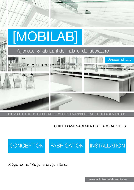 Catalogue MOBILAB 2017 : Mobilier de laboratoire
