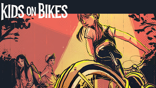Kids on Bikes RPG - Strange Adventures in Small Towns