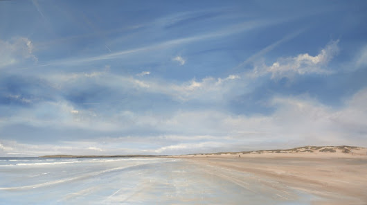 Camber Sands late spring, Kent - Tom Cringle | Professional Artist