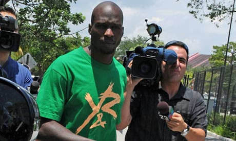 Chad 'Ochocinco' Johnson gets 30 days in jail in domestic violence case