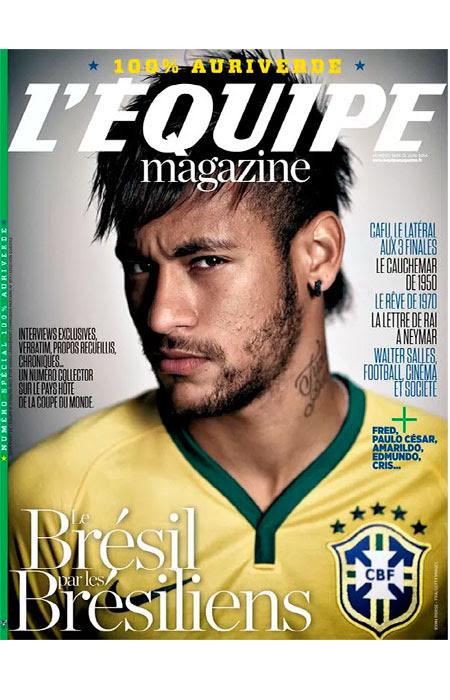 Com Neymar na capa, jornal francês lança revista sobre a Seleção Brasileira