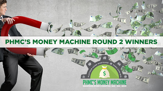 PHMC's Money Machine WINNERS!