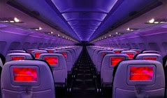 Virgin America Mood Lighting by Binder.donedat