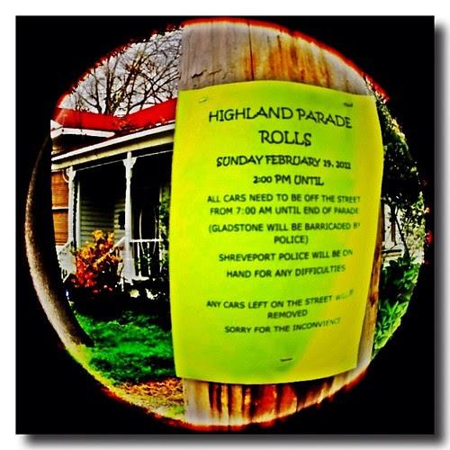 Highland parade rolls #mardigras #kreweofhighland #louisiana #shreveport #kathrynusher by Kathryn Usher