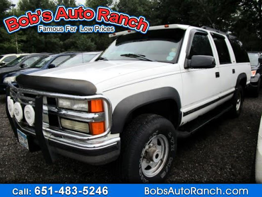 Used 1998 Chevrolet Suburban K2500 4WD for Sale in Lino Lakes MN 55014 Bobs Auto Ranch